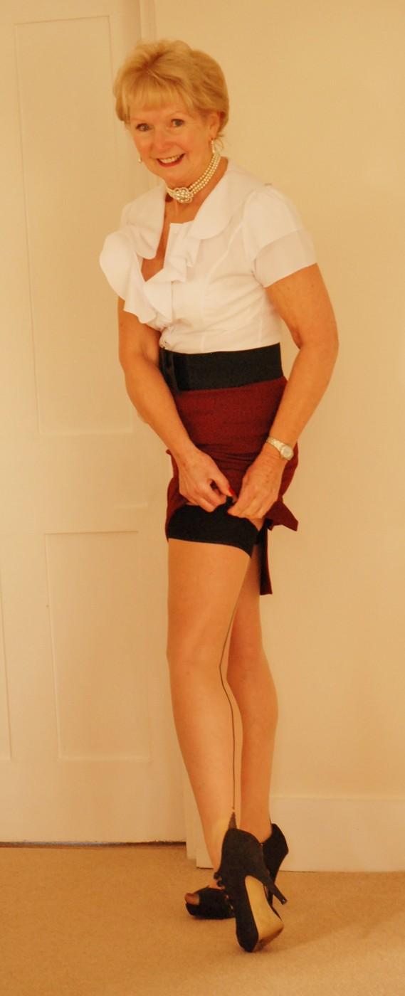 stocking tops / model amba, makeupamba, stylist amba / portfolio